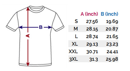 anxiety-tee-shirt-size-chart